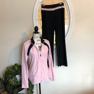Vintage Pink and Black Track Suit 🛍🛍